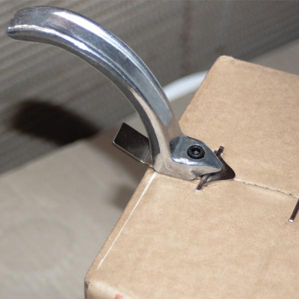 Levapunti metallico in acciaio inox