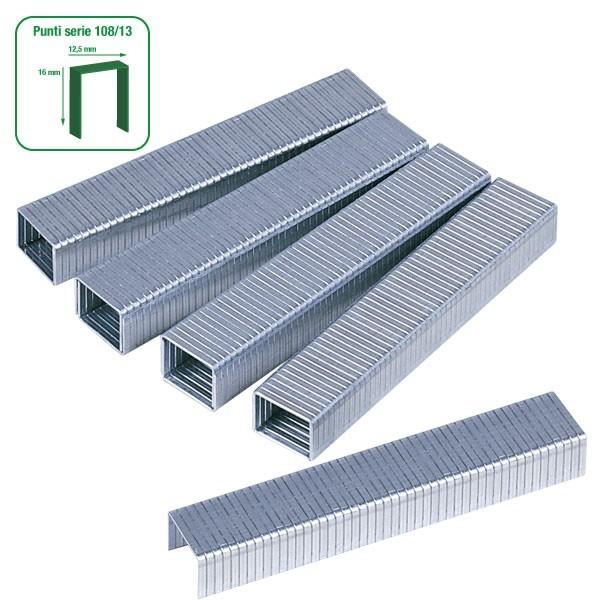 Punti metallici per fissatrici manuali ed elettriche