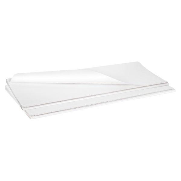 Carta kraft bianca monolucida in fogli