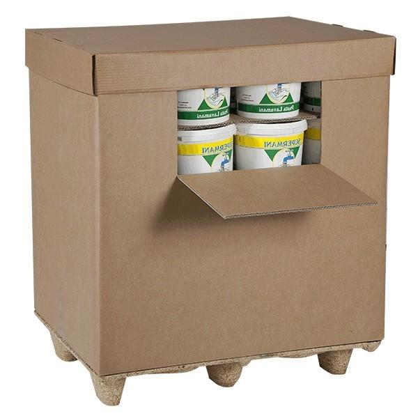 Casse container con coperchio