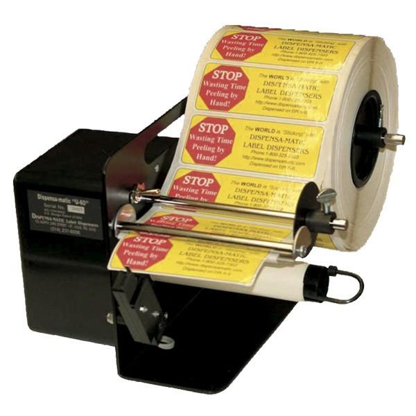Distributore automatico di etichette adesive grandi