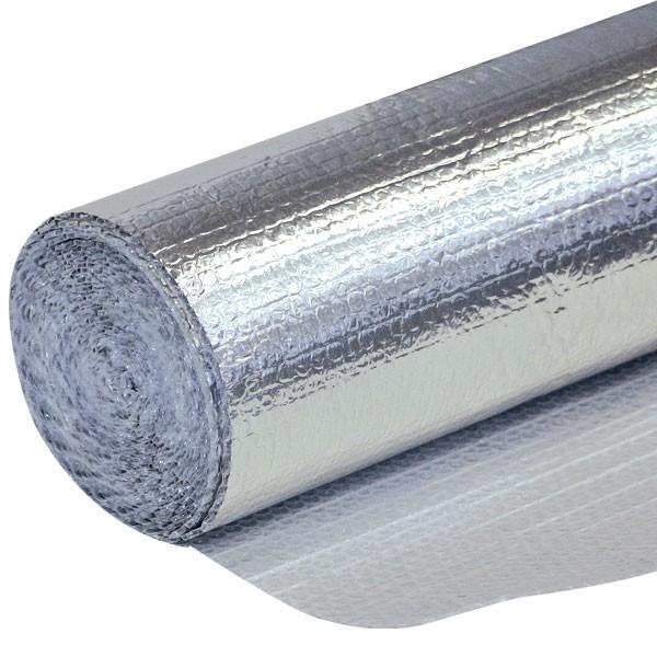 Film a bolle d'aria con alluminio