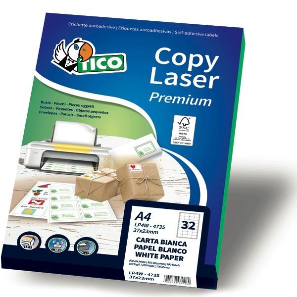 Etichette Copy Laser Premium