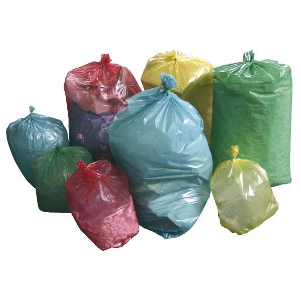 Buste per rifiuti colorate NU