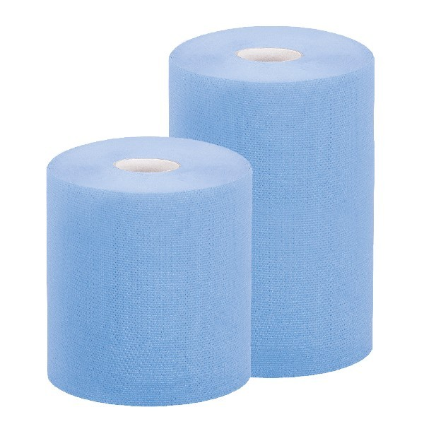 Bobine per asciugatura in carta blu