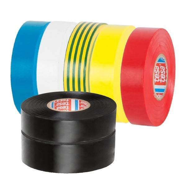Nastro isolante in PVC colorato Tesa 53988