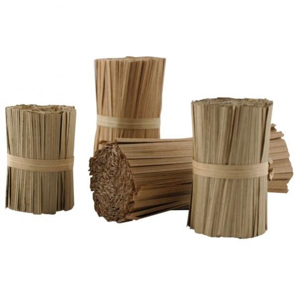 Laccetti rivestiti in carta biodegradabile