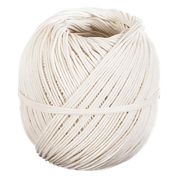 Spago bianco in fibra naturale