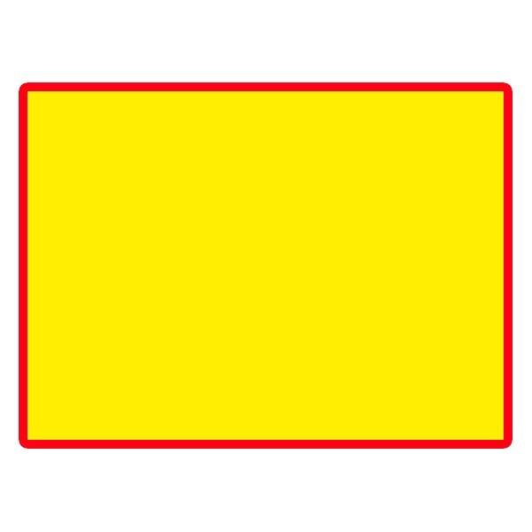 Etichette con bordo colorato per PRINTEX-2