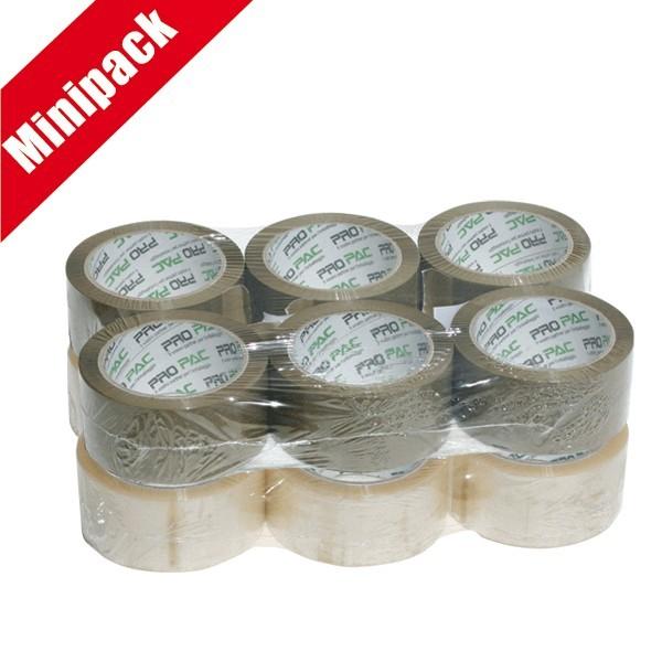 Minipack 6 nastri in PPL a solvente PROPAC