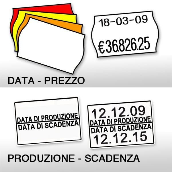 Etichette per PRINT - 2 linee di stampa