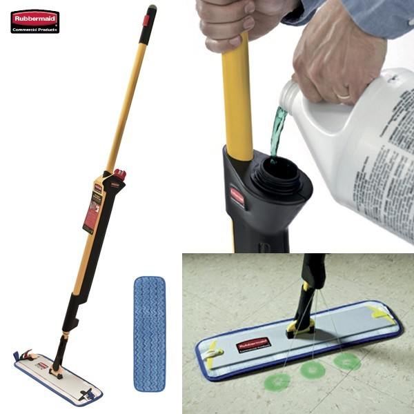 Sistema di pulizia pavimenti RUBBERMAID