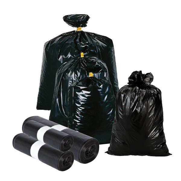 Sacchi per rifiuti in PE-HD leggeri