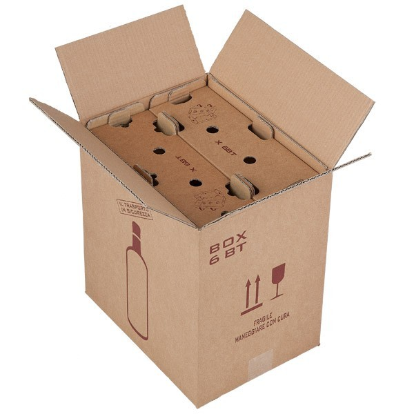 Scatole di sicurezza per spedizione di bottiglie