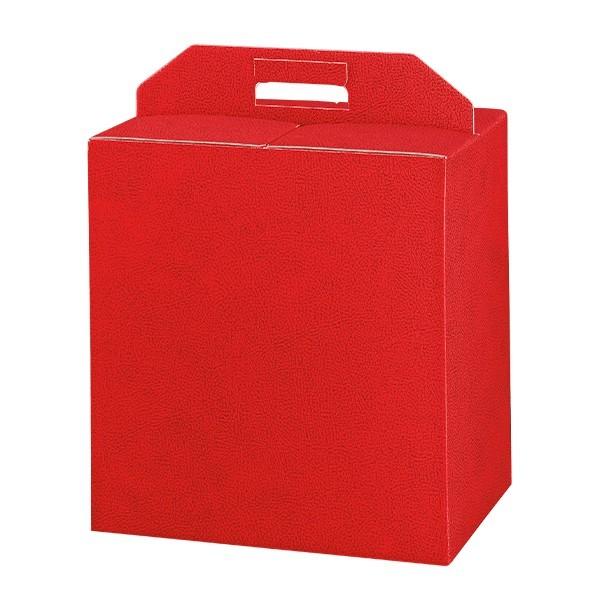 Scatole porta panettone rossa linea elite