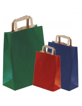 Shopper colorate maniglia...