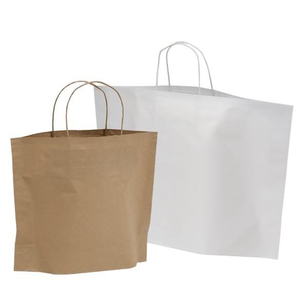 Shopper in carta avana e bianche B-Bags