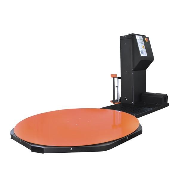 Macchina fasciapallet a tavola rotante con colonna telescopica
