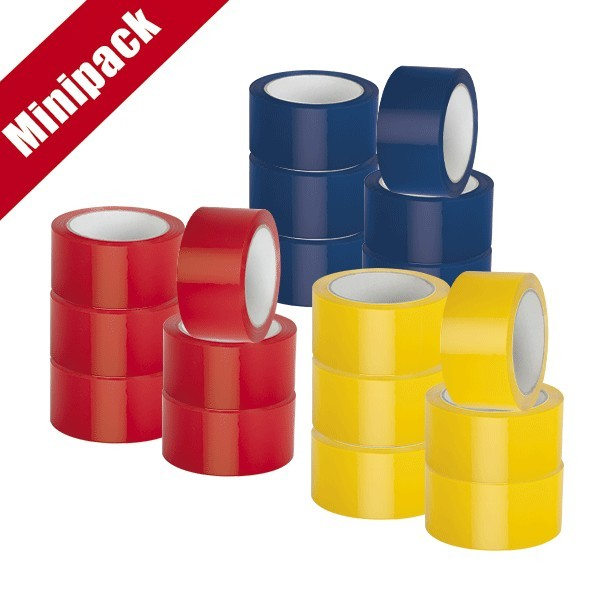 Minipack 6 nastri in PVC colorati