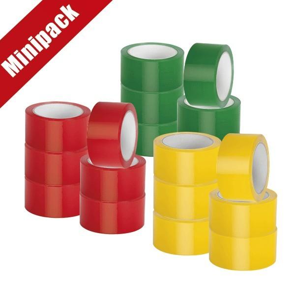 Minipack 6 nastri in PPL colorati