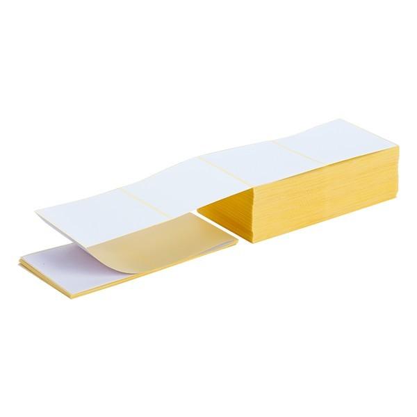 Etichette fanfold carta a trasferimento termico