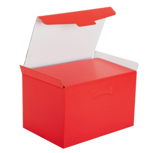 Scatola segreto regalo rossa