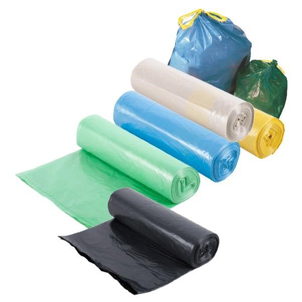 Sacchi per rifiuti in rotolo