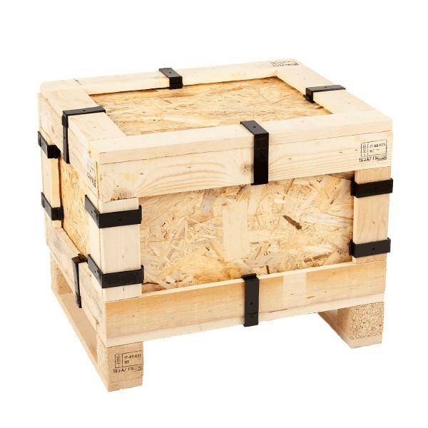 Casse in abete e legno pressato