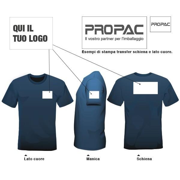 Personalizzazione indumenti ricamo e transfer