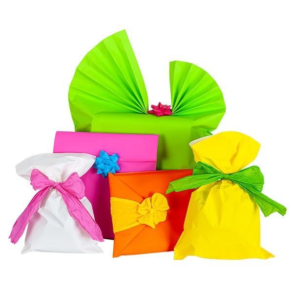 Sacchetti regalo opachi colori assortiti