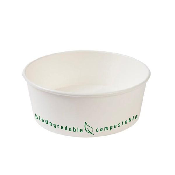 Contenitore monouso compostabile per insalata