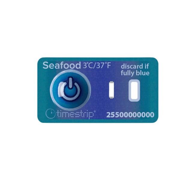 Indicatore di temperatura adesivo Timestrip