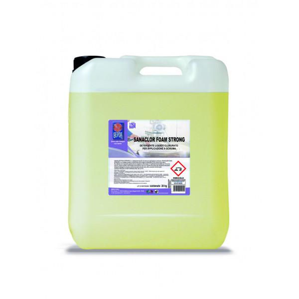 Sanacid foam detergente schiumogeno a pH acido