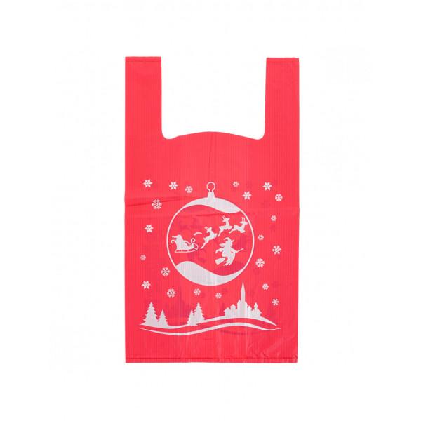 Shopper biodegradabili natalizie
