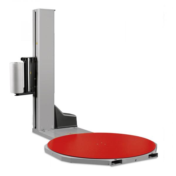 Macchina fasciapallet con tavola rotante e frizione meccanica