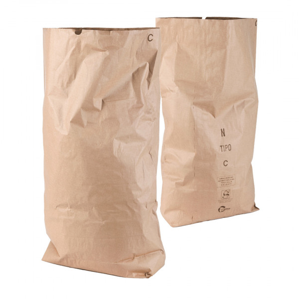 Sacco grande in carta per trasporto pane