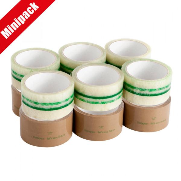 Minipack nastro adesivo da imballaggio in PLA 20 my biobased