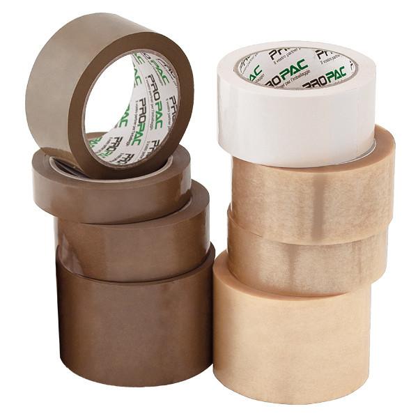 Nastro adesivo da imballaggio silenzioso similPVC 35 my