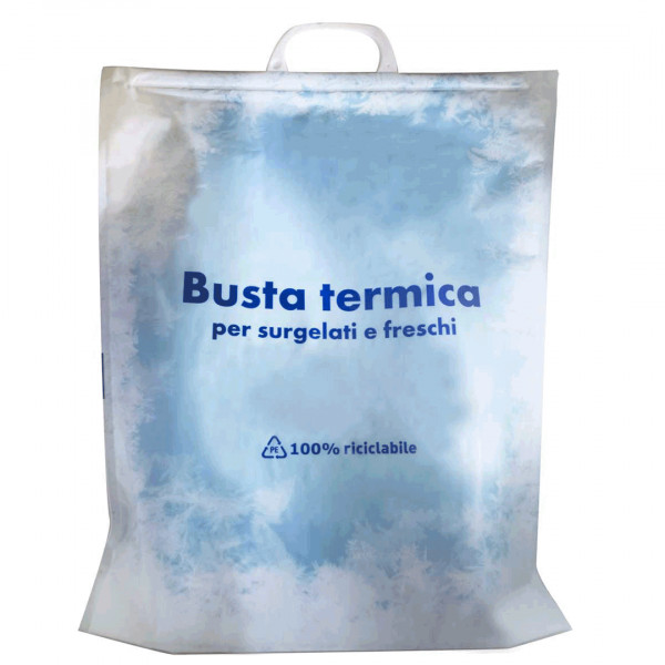 Busta termica con maniglia 100% riciclabile