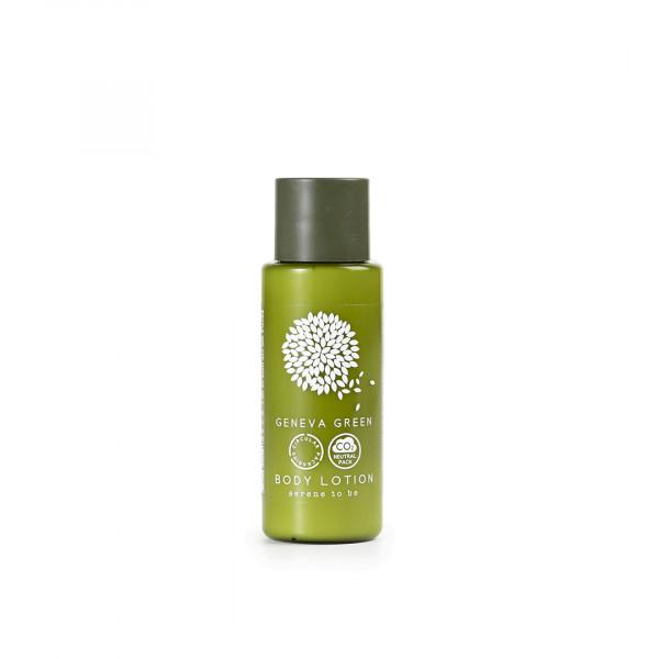 Crema corpo 30 ml linea cortesia Geneva Green 300 pezzi