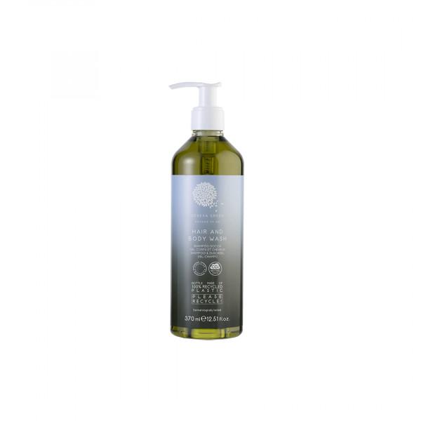 Shampoo doccia 370ml linea Geneva Green 18 pezzi