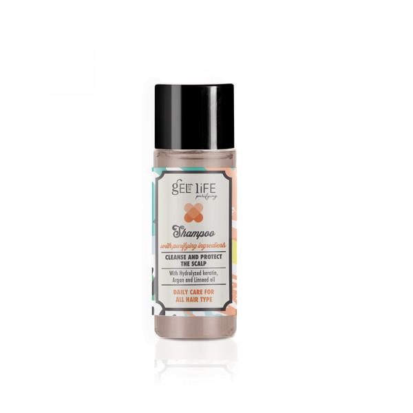 Shampoo con antibatterico 30 ml linea cortesia Purifying 300 pezzi