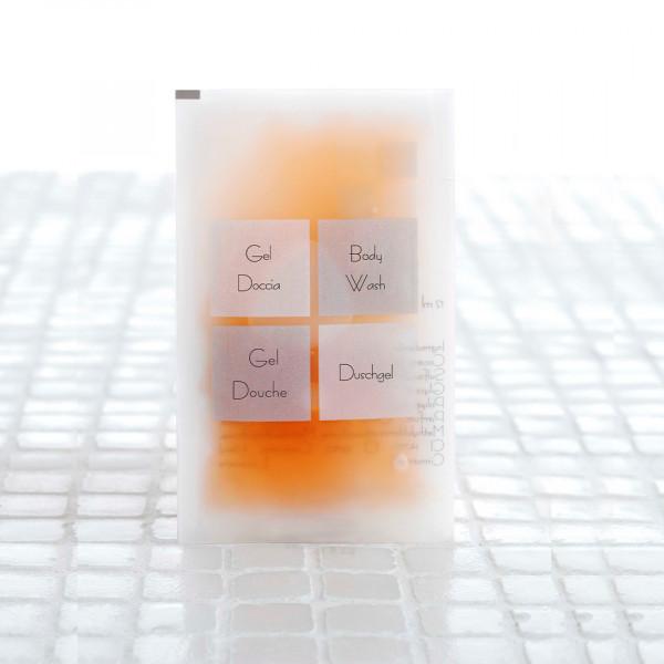 Gel doccia in bustina 11 ml linea Neutra 600 pezzi