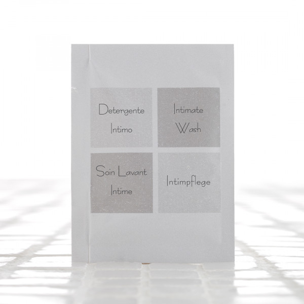Igiene intima in bustina 7 ml linea Cortesia neutra 600 pezzi