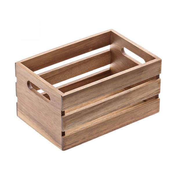 Ceste per buffet in legno di acacia