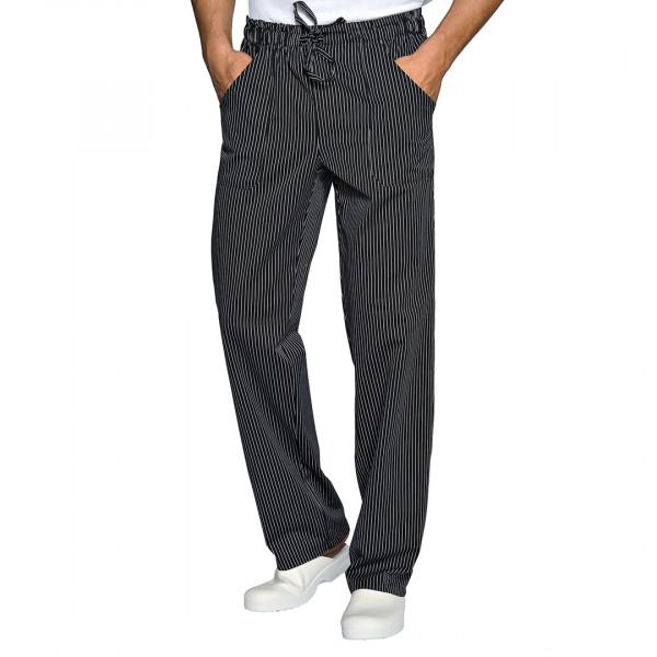 Pantalone da lavoro gessato unisex