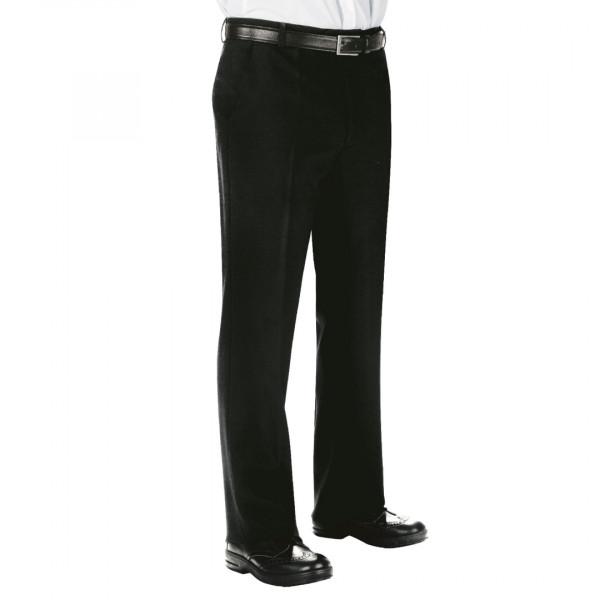 Pantalone da lavoro nero elegante