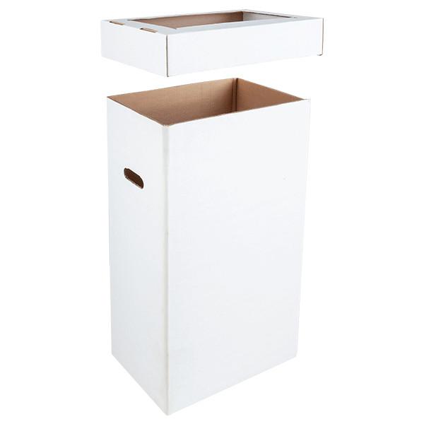 Contenitore per rifiuti in cartone