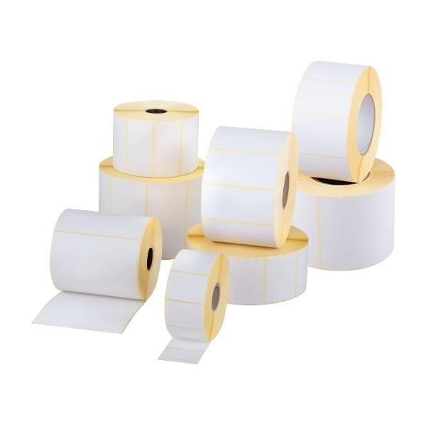 Etichette in carta bianca a trasferimento termico
