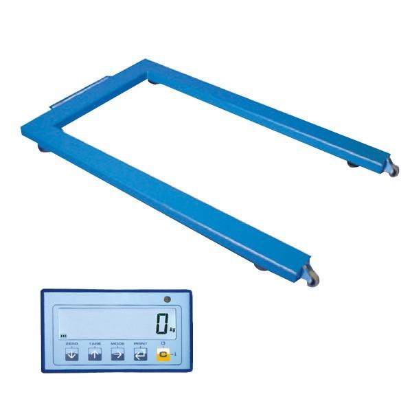 Bilancia elettronica pesapallet portatile